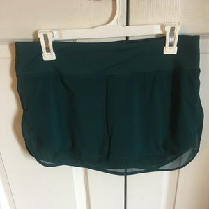 Lululemon Hotty Hot skirt